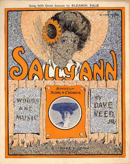 Sheet Music - Sally Ann