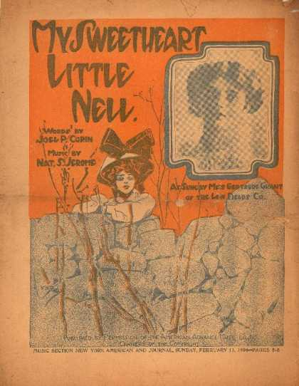 Sheet Music - My sweetheart little Nell