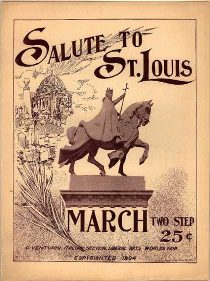 Sheet Music - Salute to St. Louis
