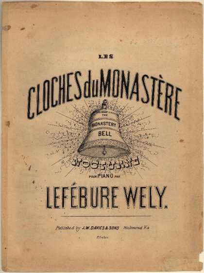 Sheet Music - Les cloches du monastere; The monastery bell; Nocturne