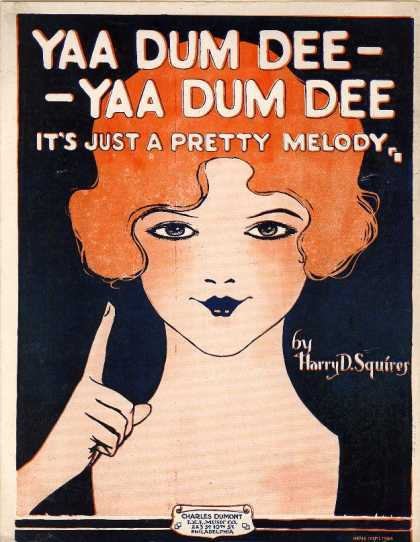 Sheet Music - Yaa dum see, yaa dum dee, it's just a pretty melody