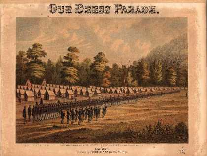 Sheet Music - Our dress parade