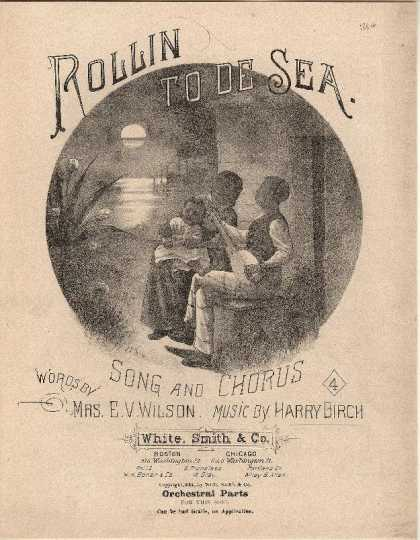 Sheet Music - Rollin to de sea