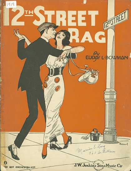 Sheet Music - 12th. Street rag