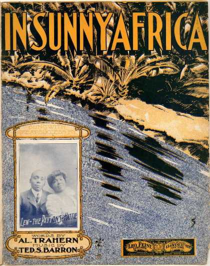 Sheet Music - In sunny Africa