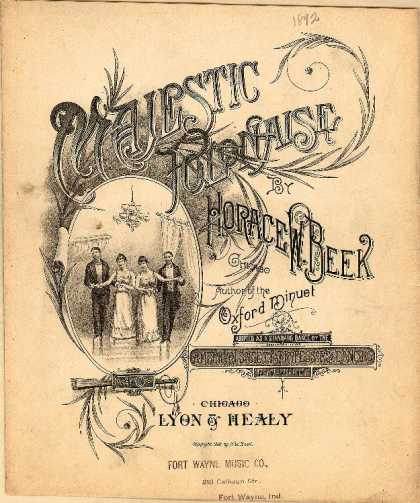 Sheet Music - Majestic polonaise