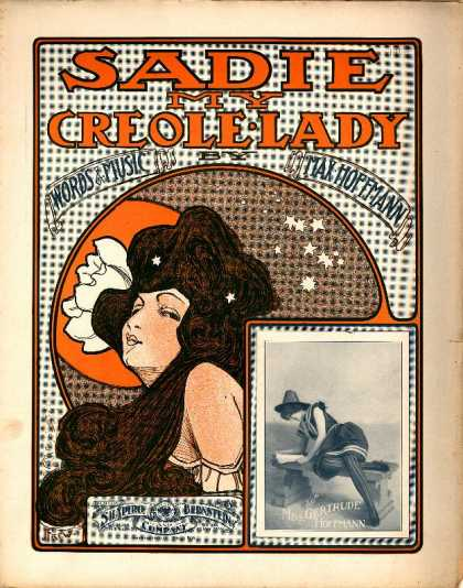 Sheet Music - Sadie my creole lady