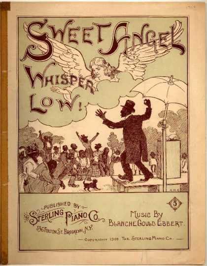 Sheet Music - Sweet angel whisper low
