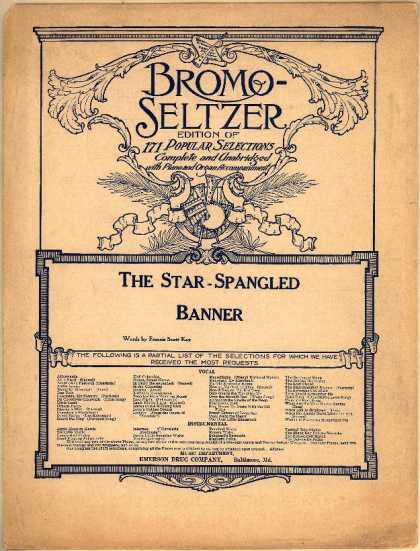 Sheet Music - The star-spangled banner