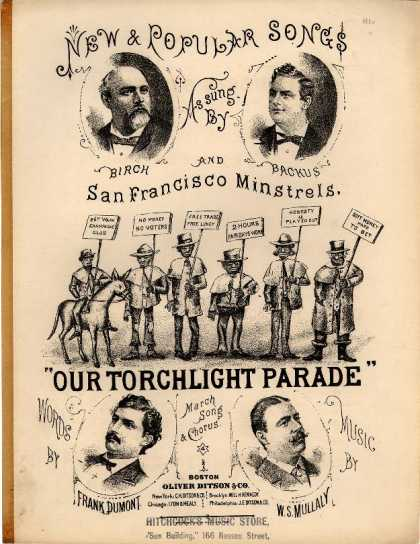 Sheet Music - Our torchlight parade