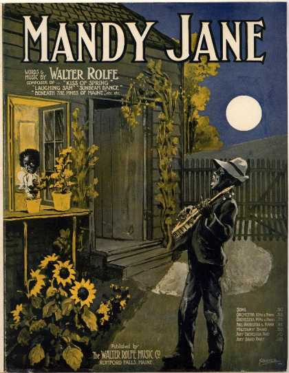 Sheet Music - Mandy Jane