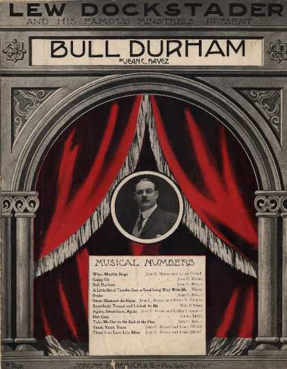 Sheet Music - Bull Durham