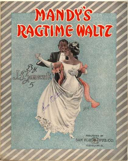 Sheet Music - Mandy's ragtime waltz