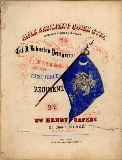 Sheet Music - Rifle Regiment quick step