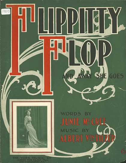 Sheet Music - Flippity flop