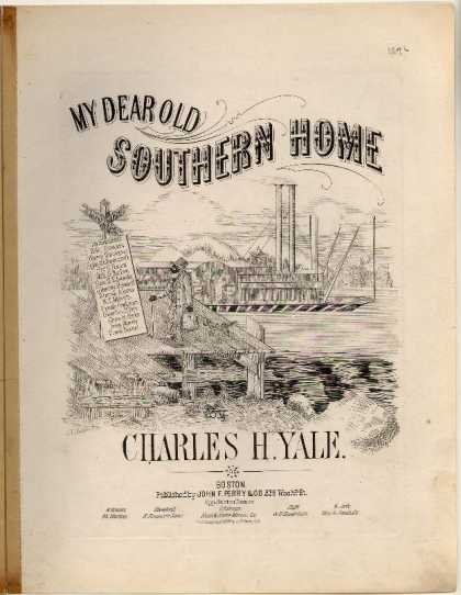 Sheet Music - My dear old Southern home