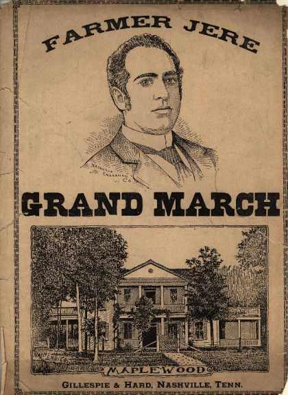 Sheet Music - Farmer Jere grand march