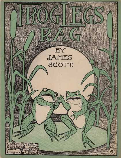 Sheet Music - Frog legs rag