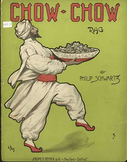Sheet Music - Chow-chow rag