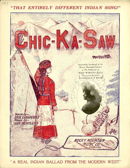 Sheet Music - Chic-ka-saw