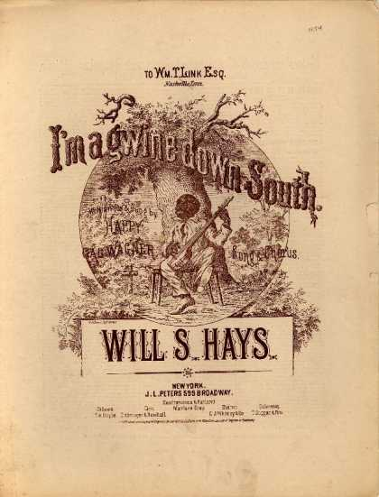 Sheet Music - I'm agwine down south