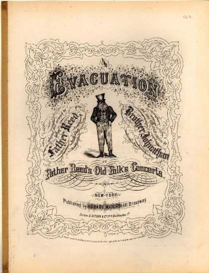 Sheet Music - The evacuation