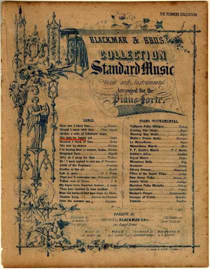 Sheet Music - We may be happy yet; Daughter of St. Mark