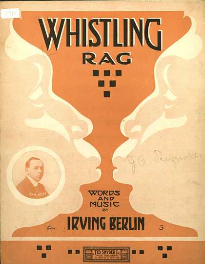 Sheet Music - Whistling rag