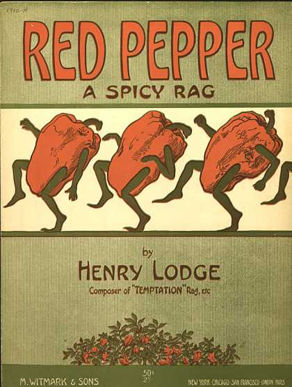 Sheet Music - Red pepper
