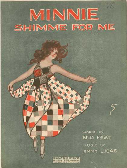 Sheet Music - Minnie shimme for me