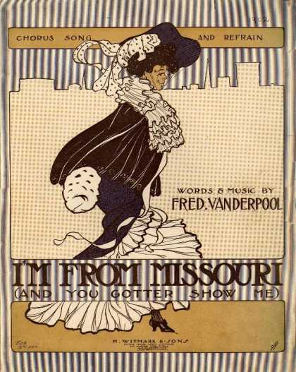 Sheet Music - I'm from Missouri and you gotter show me