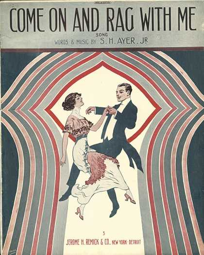 Sheet Music - Come on and rag with me