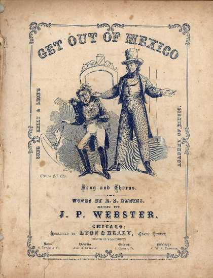 Sheet Music - Get out of Mexico