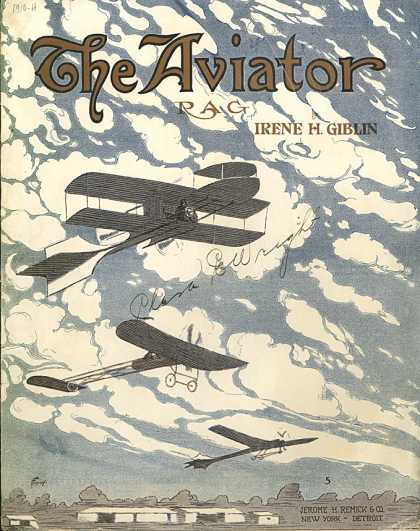 Sheet Music - The aviator rag
