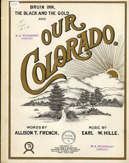 Sheet Music - Our Colorado