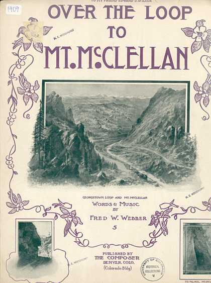 Sheet Music - Over the loop to Mt. McClellan