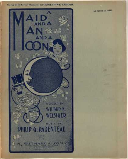 Sheet Music - A maid and a man and a moon