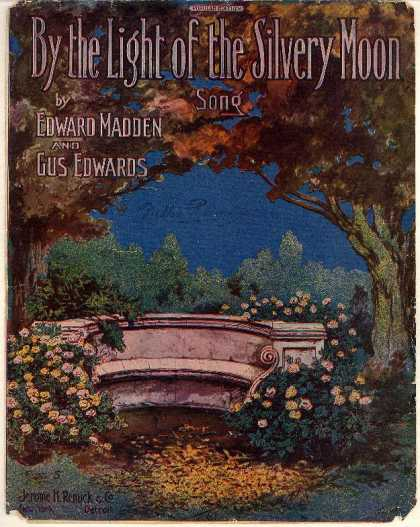 Sheet Music - By the light of the silvery moon