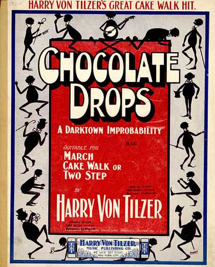 Sheet Music - Chocolate drops
