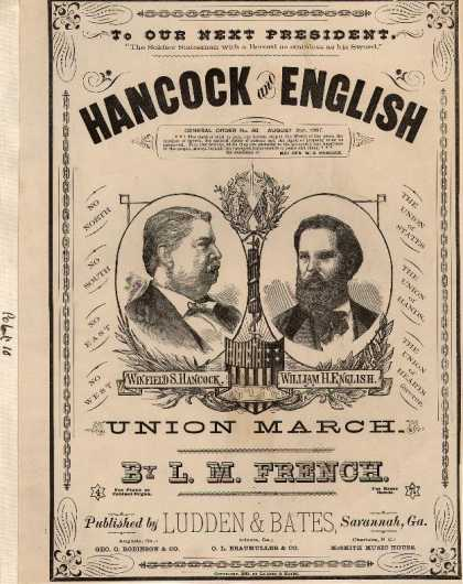 Sheet Music - Hancock and English Union march