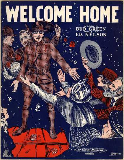 Sheet Music - Welcome home