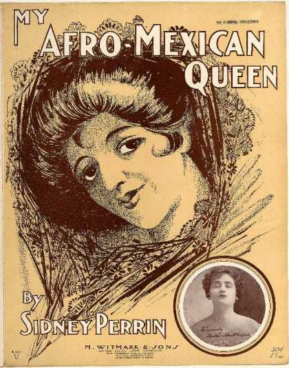 Sheet Music - My Afro-Mexican queen; Ma Afro-Mexican queen