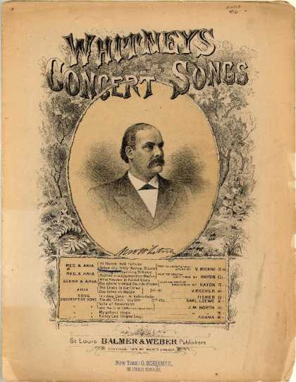 Sheet Music - Before thy holy name, O Lord; Al nome tuo tenuta; From the enchanted forest oper