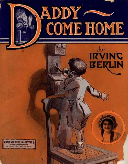 Sheet Music - Daddy come home