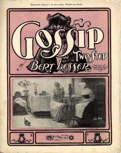 Sheet Music - Gossip two-step