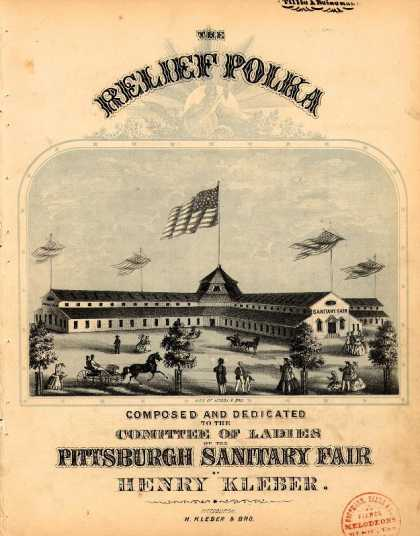 Sheet Music - The relief polka