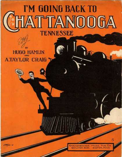 Sheet Music - I'm going back to Chattanooga Tennessee