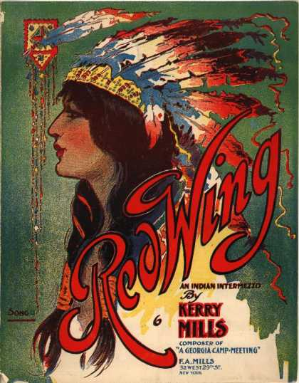 Sheet Music - Red wing; Indian intermezzo; Indian fable