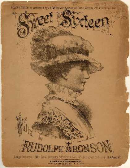 Sheet Music - Sweet sixteen waltz