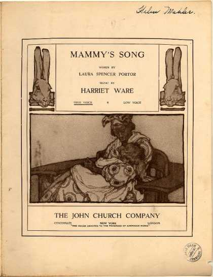 Sheet Music - Mammy's song